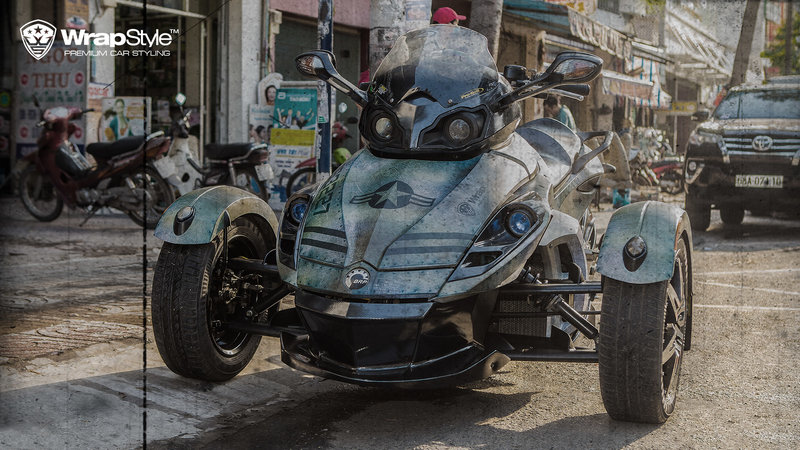 Can-Am Spyder - Jet design