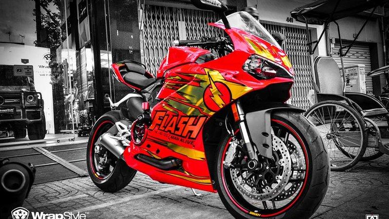 Ducati 959 - Flash design
