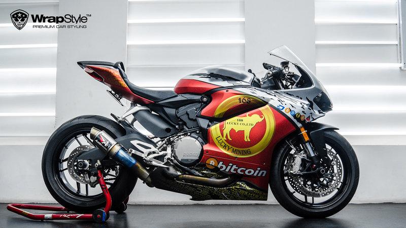 Ducati 959 - Bitcoin design