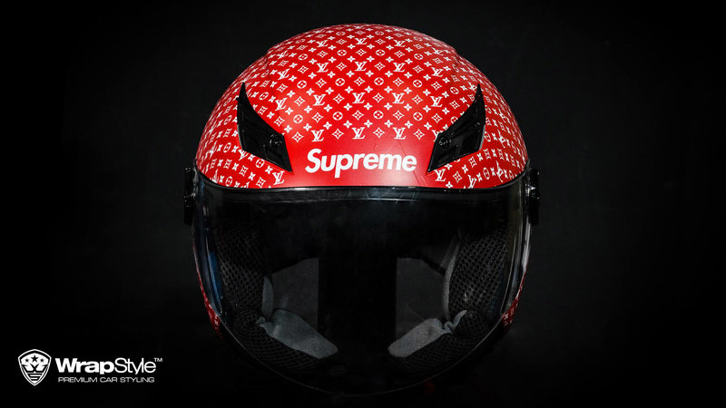 Helmet - Supreme design