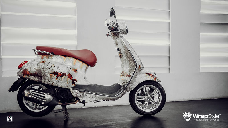 Vespa Sprint - Rusty design