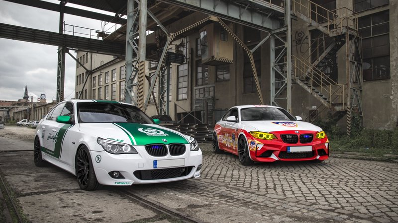BMW M2 / BMW 535i - Dubai Police / New York Fire Department design - cover small