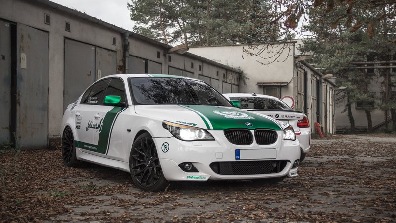 BMW M2 / BMW 535i - Dubai Police / New York Fire Department design - img 2 small