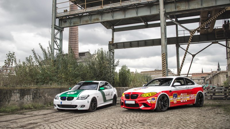 BMW M2 / BMW 535i - Dubai Police / New York Fire Department design - img 3 small