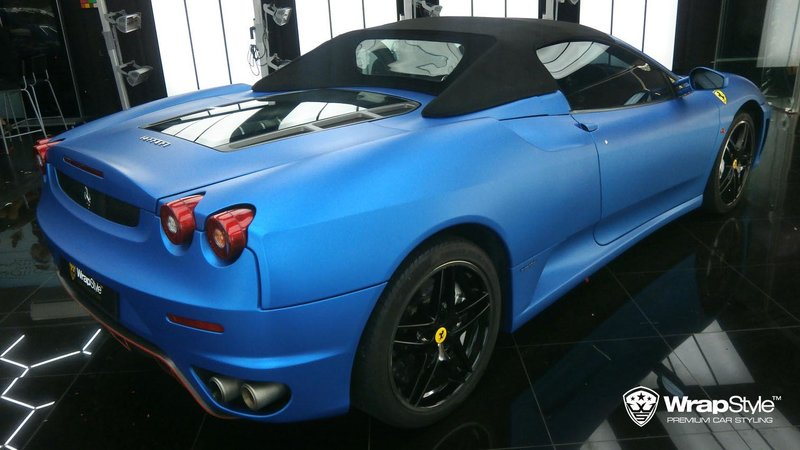 Ferrari F430 - Matte Metalic Blue - img 3 small
