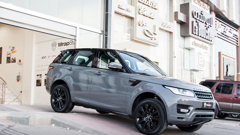 Range Rover Sport HSE - Grey wrap - cover small