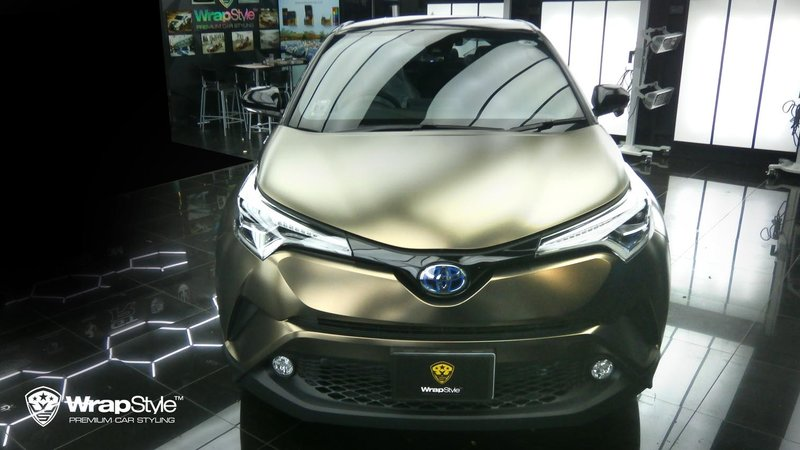 Toyota C-HR - Pearl Metal Coffee wrap - img 1 small