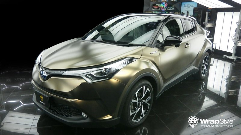 Toyota C-HR - Pearl Metal Coffee wrap - img 2 small