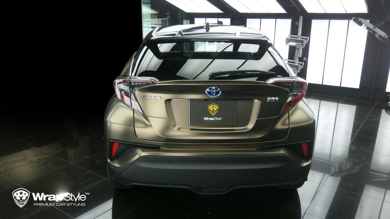Toyota C-HR - Pearl Metal Coffee wrap - img 3 small