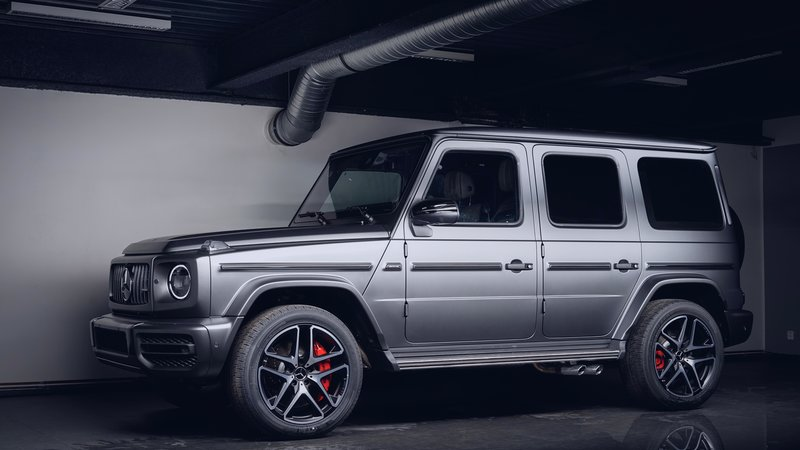 Mercedes G63 - Matte Paint Protection OpticShield - cover small
