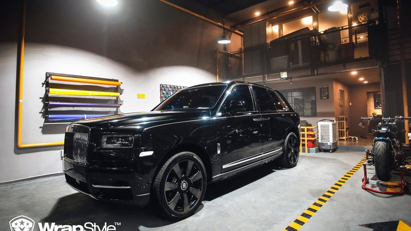 Rolls Royce Cullinan - Paint Protection OpticShield - cover small