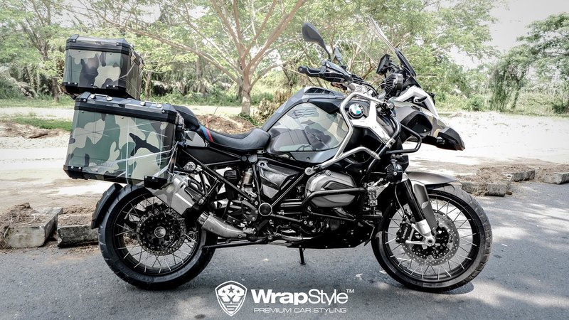 BMW GS Adventure - Camo design