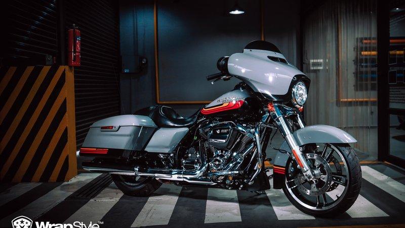 Harley-Davidson Electra Glide - Retro design