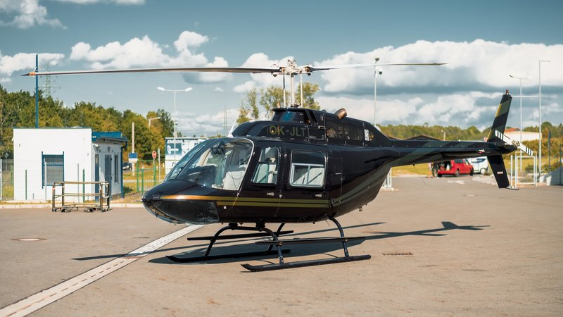 Helicopter OK-JLT - Black / Gold design