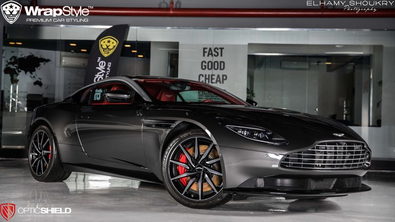 Aston Martin DB11 - Paint Protection OpticShield