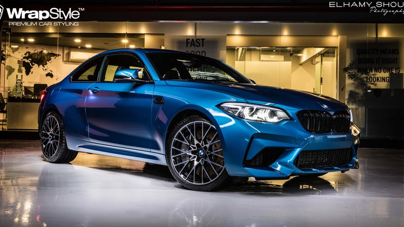 BMW M2 Competiton - Paint Protection OpticShield
