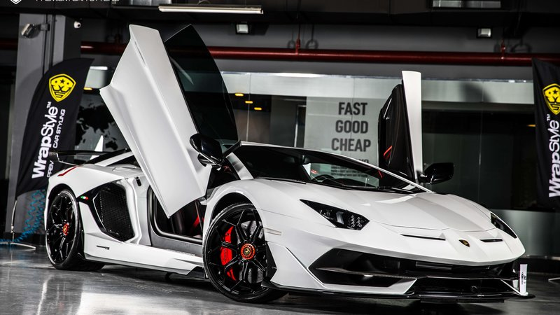 Lamborghini Aventador - Paint Protection OpticShield