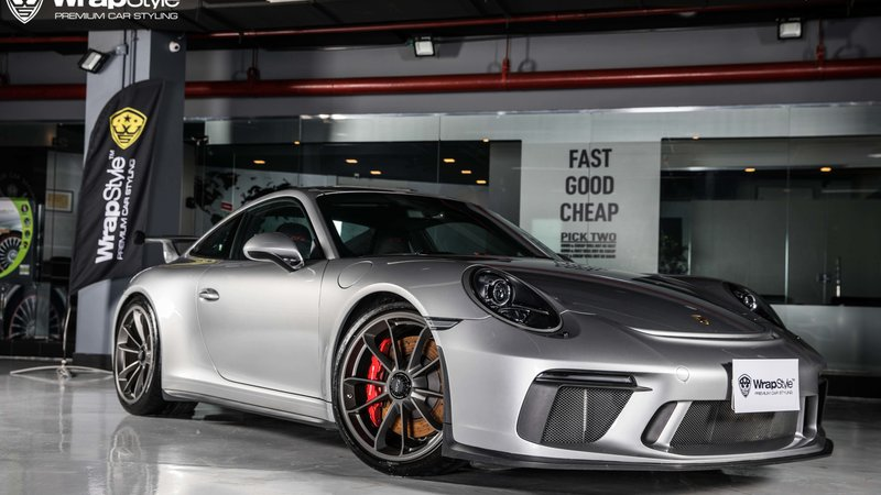 Porsche 911 GT3 - Paint Protection OpticShield