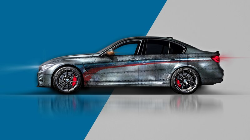 BMW M3 - Old Steel design - cover small