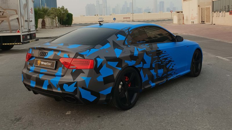 Audi RS5 - Half Camo design - img 1 small