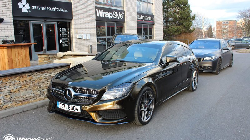 Mercedes CLS - Midnight Gold wrap - cover small
