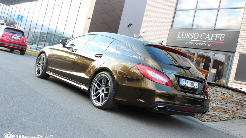 Mercedes CLS - Midnight Gold wrap - img 3 small