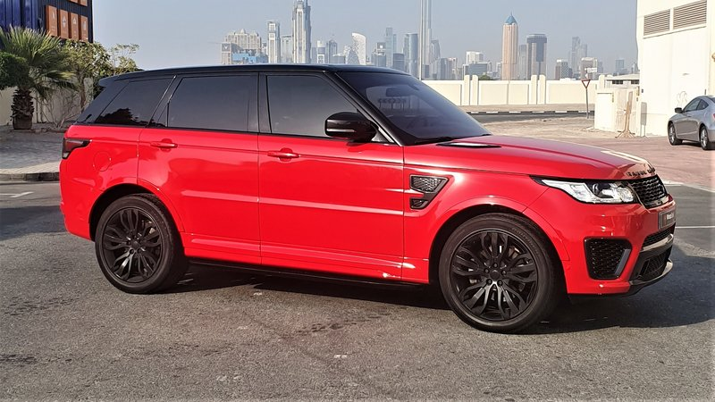 Range Rover Sport - Red Gloss wrap - img 1 small
