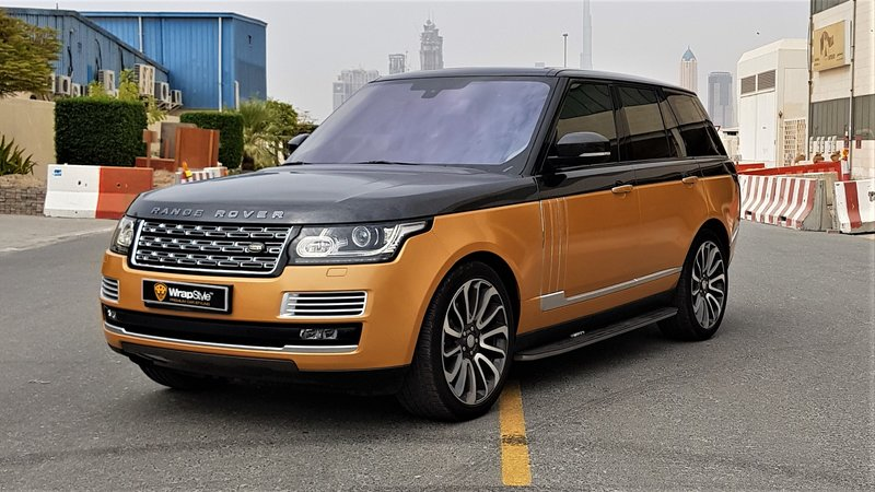 Range Rover Vogue - Bronze Pearl wrap - img 1 small