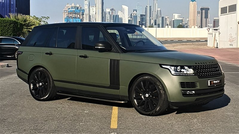 Range Rover Vogue - Green Matt wrap - img 1 small