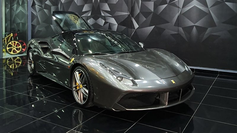 Ferrari 488 - Paint Protection