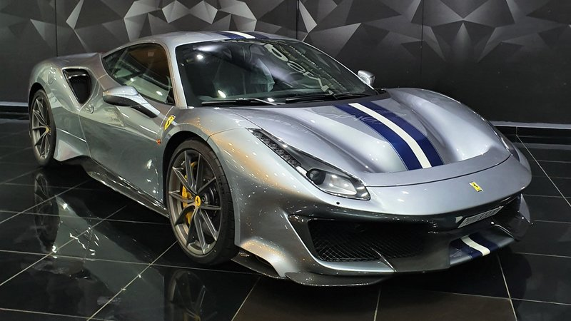 Ferrari 488 Pista - Paint Protection