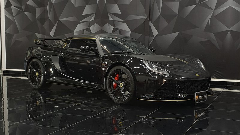 Lotus Exige - Black Gloss wrap - cover small