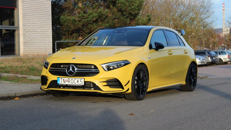 Mercedes A AMG -Paint Protection OpticShield