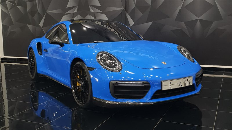 Porsche 911 - Blue Gloss wrap - cover small