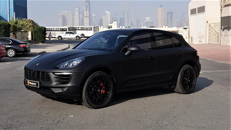 Porsche Macan - Black Matt wrap - img 1 small