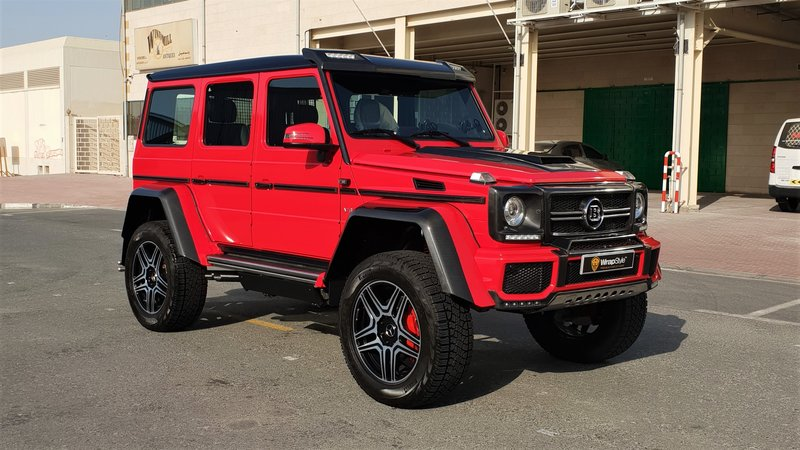 Mercedes G - Red Gloss wrap - img 2 small