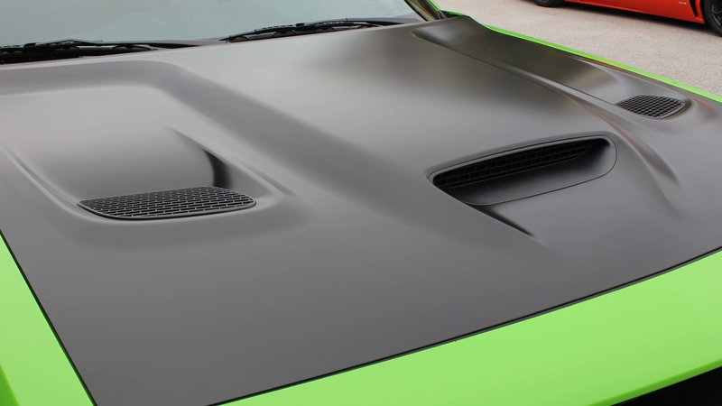 Dodge Challenger Hellcat - Green Gloss wrap - img 3 small