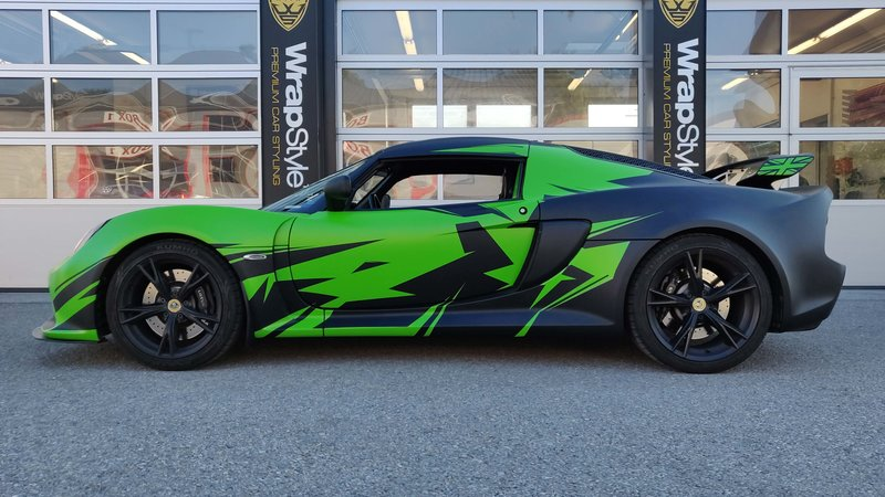 Lotus Exige - Green Gloss wrap - cover small