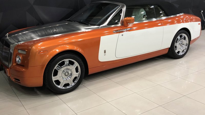 Rolls-Royce Dawn - Orange Stripe wrap - img 1 small