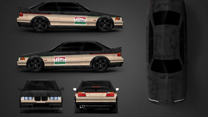 BMW E46 M3 - Lusso Caffee design - img 1 small