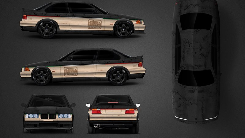 BMW E46 M3 - Lusso Caffee design - img 2 small