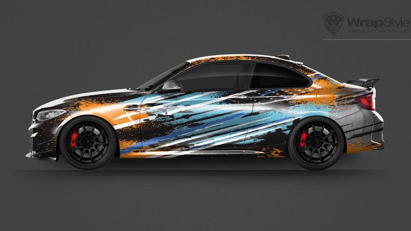 BMW M2 -  Universal Abstract designs - img 1 small