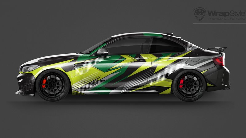 BMW M2 -  Universal Abstract designs - img 2 small