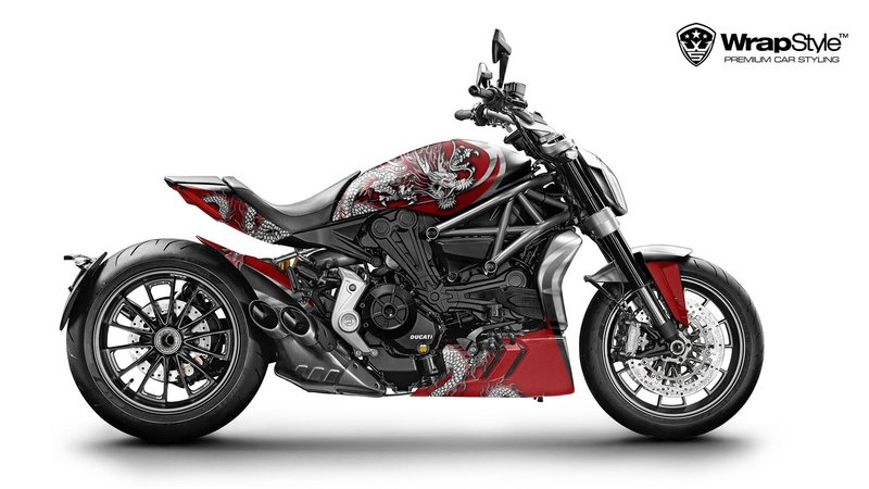 Ducati XDiavel - Dragon design