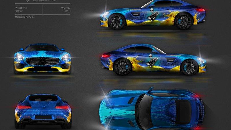 Mercedes AMG GT - MSM design