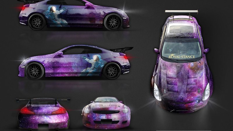 Nissan Skyline - Cosmic design