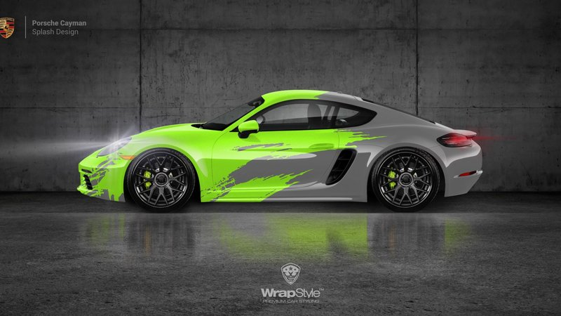 Porsche Cayman- Splash design