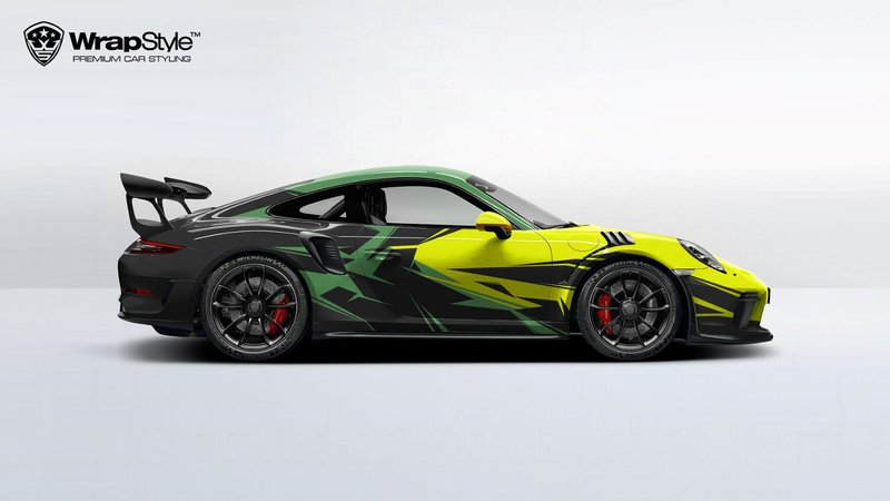 Porsche GT3 - Abstract design