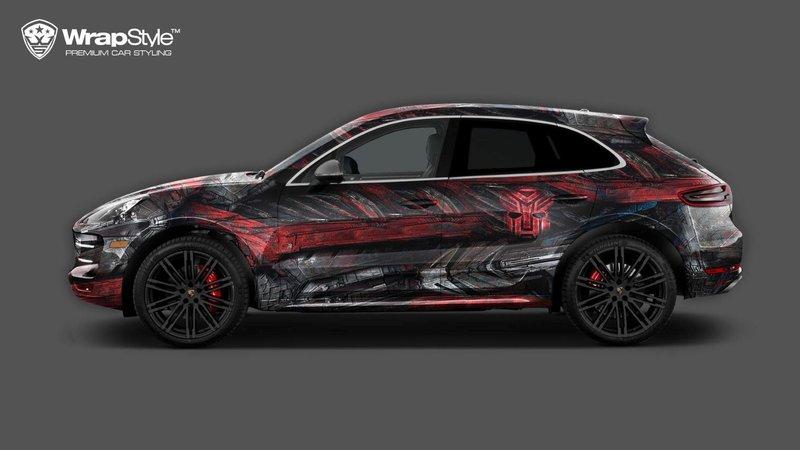Porsche Macan - Transformer design