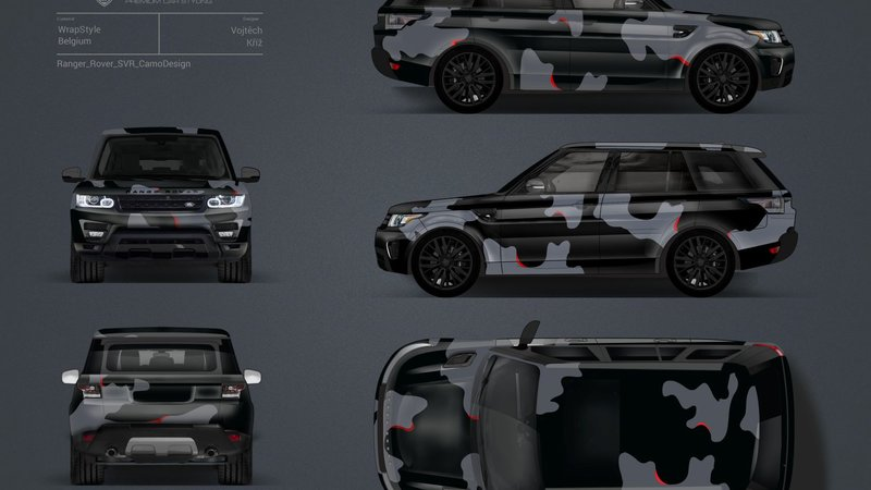 Ranger Rover SVR - Camo design